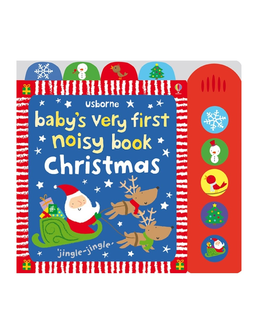 Baby's very first noisy book: Christmas