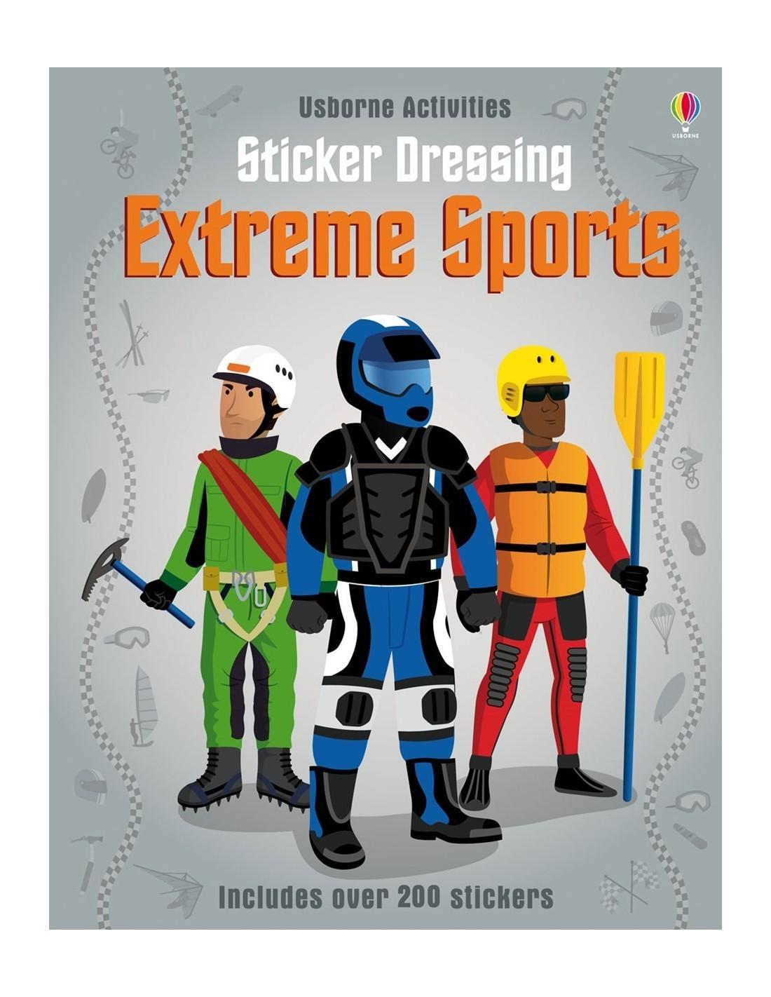 Sticker Dressing Extreme sports
