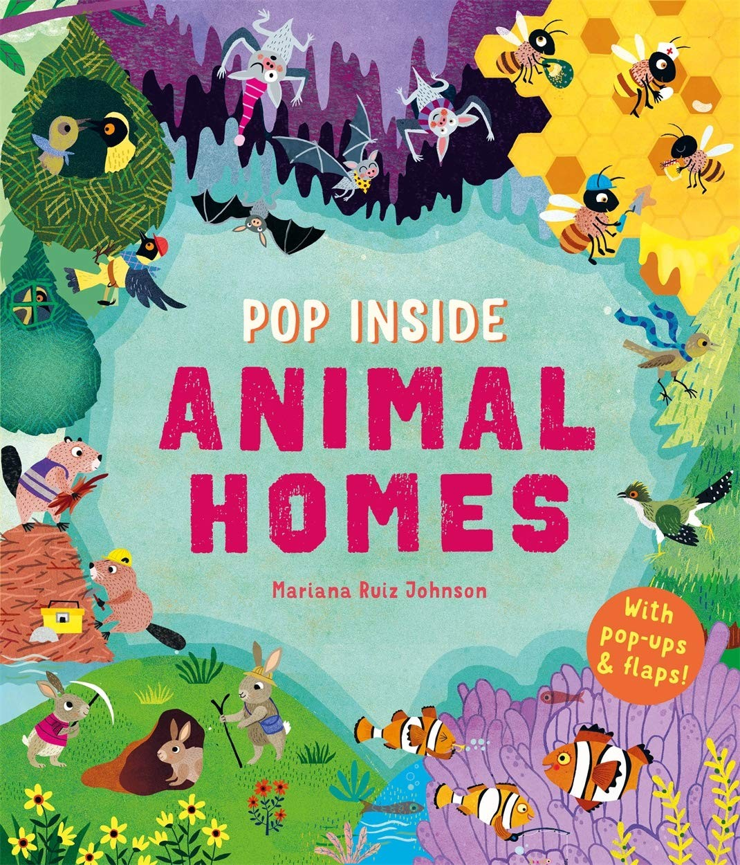 Pop Inside: Animal Homes