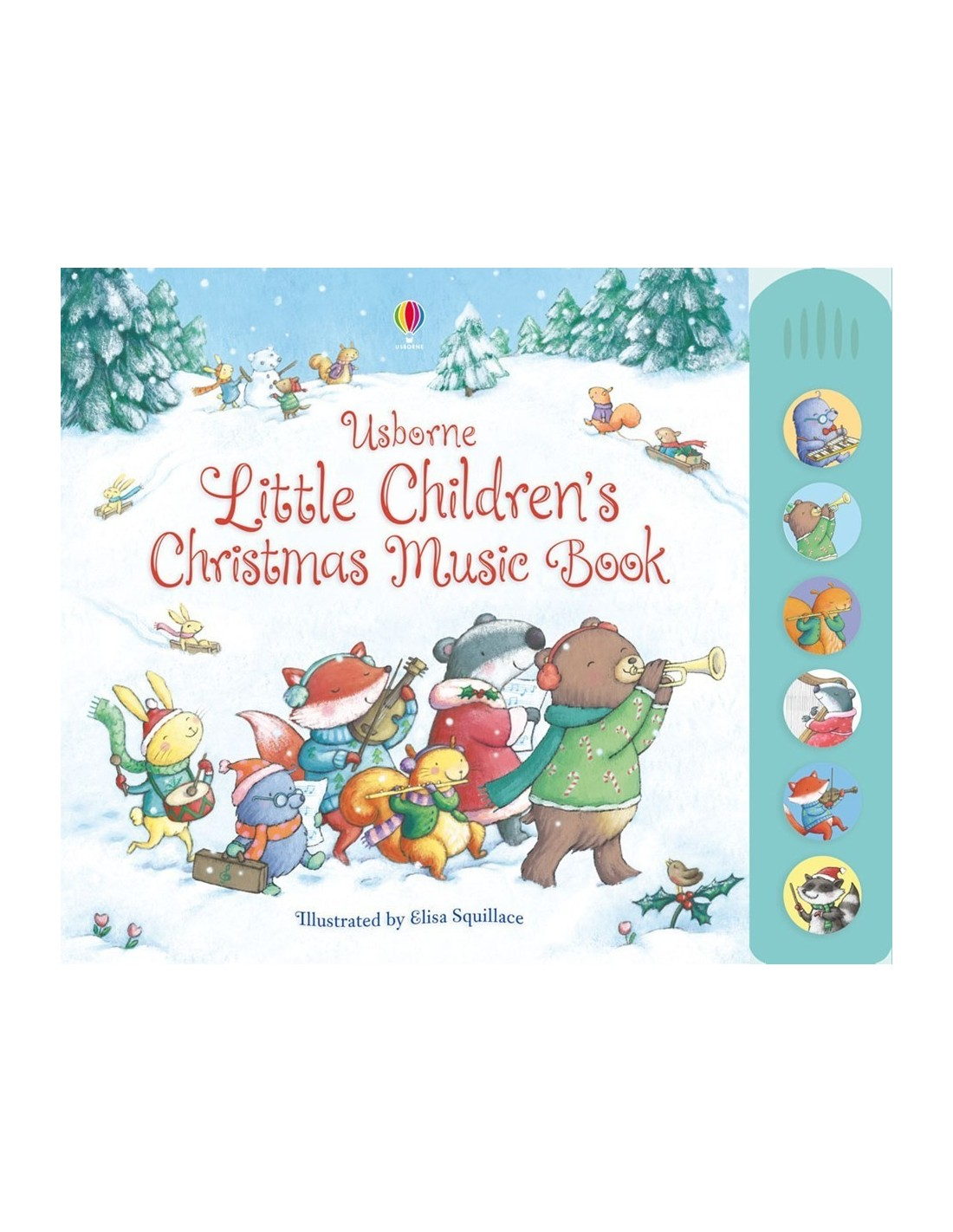 ... Little children's Christmas music book with musical sounds. Pret redus