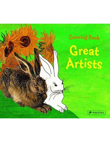 Great Artists : Colouring Book