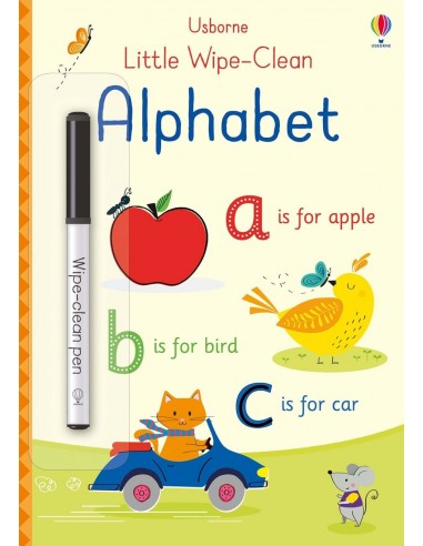 Little wipe-clean alphabet