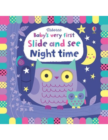 Baby's very first slide and see night...