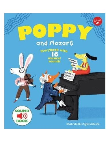 Poppy and Mozart : With 16 musical...