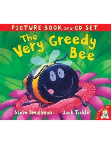 The Very Greedy Bee with CD
