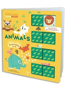 Animals (Matching Game Book)