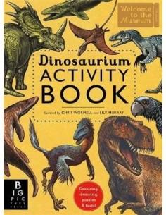 Dinosaurium Activity Book