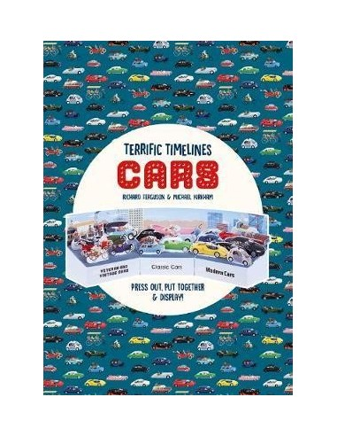 """Terrific Timelines: Cars : """"Press out, put together and display!"""""""