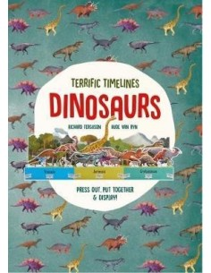 """Terrific Timelines: Dinosaurs : """"Press out, put together and display!"""""""