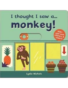 I thought I saw a... Monkey!