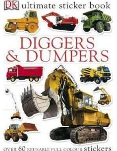 Diggers & Dumpers Ultimate Sticker Book