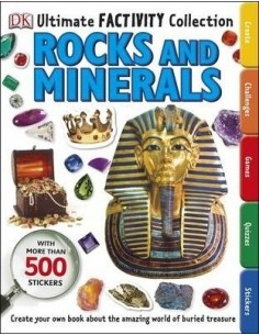 Rocks and Minerals Ultimate Factivity Collection : Create your own Book about the Amazing World of Buried Treasure