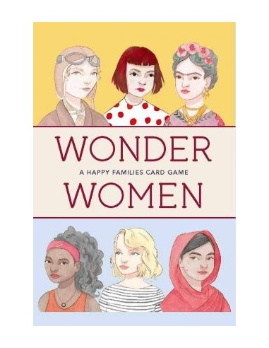 Wonder Women: A Happy Families Card Game:A Happy Families Card Ga