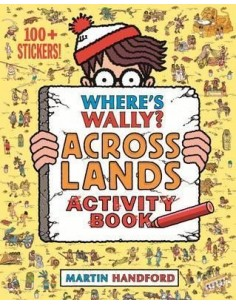 Where's Wally? Across Lands : Activity Book