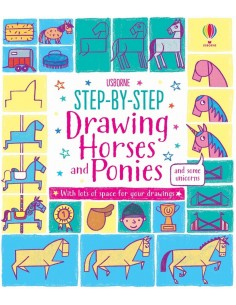 Step-by-Step Drawing Horses...
