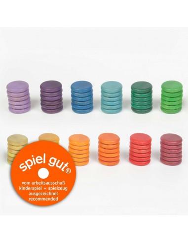 72 x coins (12 colors)