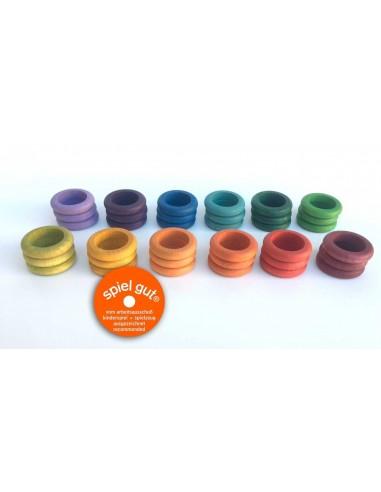 36 x rings (12 colors)