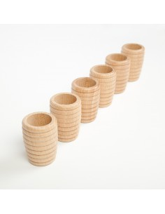 Honeycomb beakers x 6 (divisible pack)