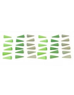 Mandala green cone