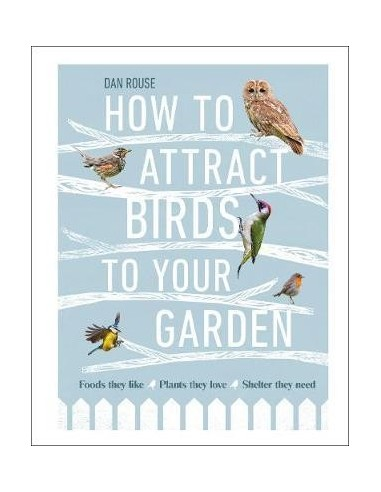 How to Attract Birds to Your Garden : Foods they like, plants they love, shelter they need